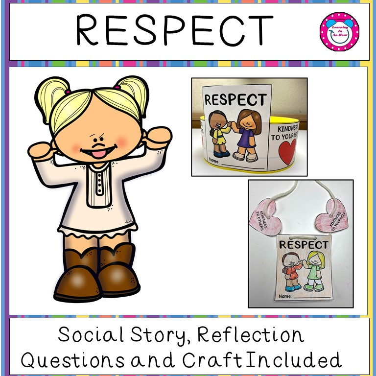 Respect Social Story and Craft